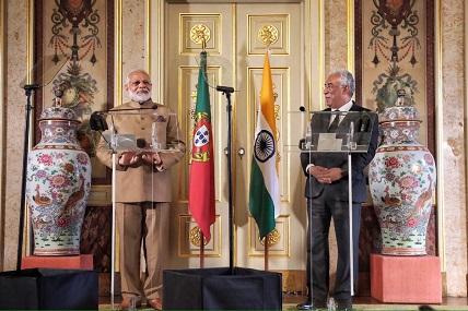 António Costa reúne-se com primeiro-ministro da Índia