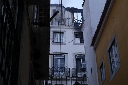 Explosão num prédio habitado em Alfama, Lisboa