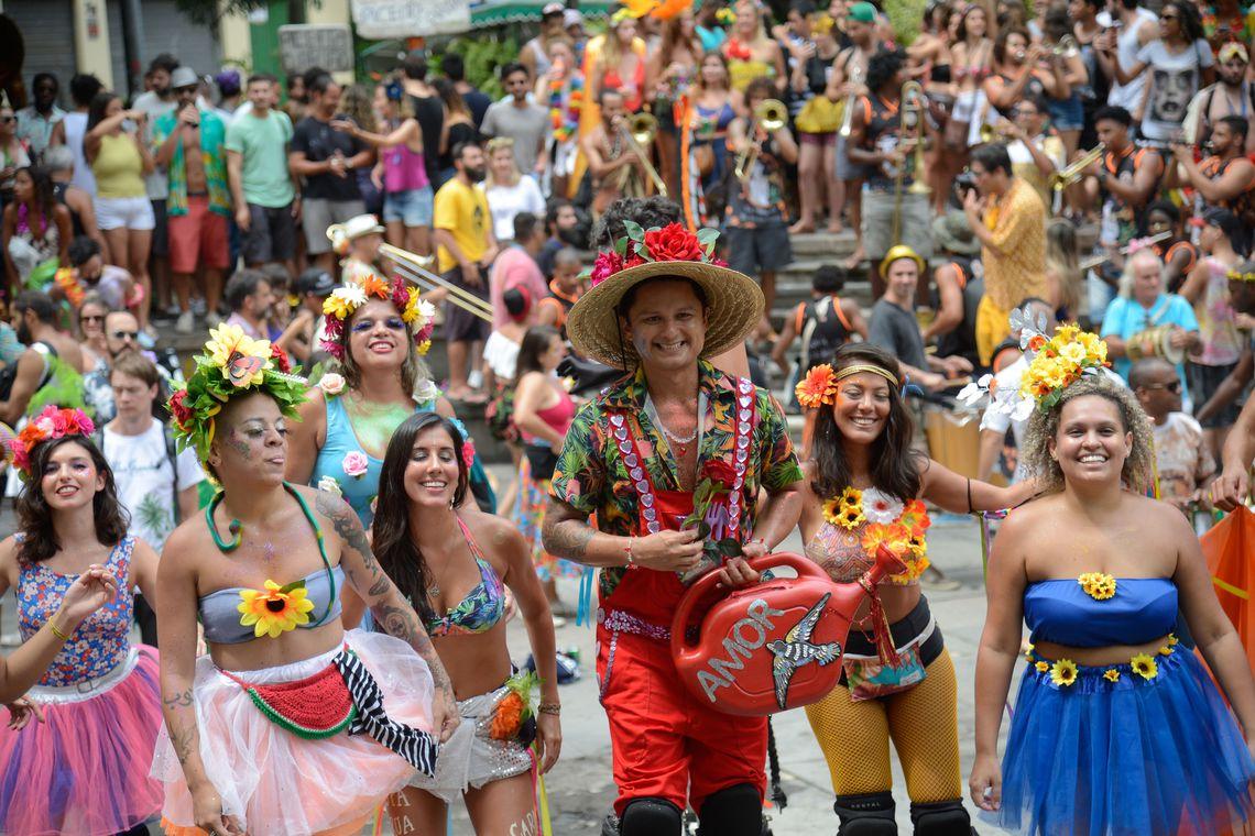 Carnaval de rua do Rio de Janeiro tem hoje 60 blocos - Portugal Digital